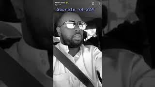MAITRE GIMS reading Quran / MAITRE GIMS يرتل القرآن