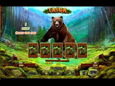 Игровой слот Taiga. Онлайн игровой автомат Тайга
