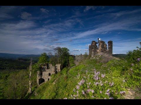 Hrad Andělská Hora (Engelsburg) - ohrožené památky Karlovarského kraje