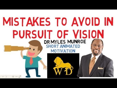 HOW TO RUN WITH YOUR VISION by Myles Munro