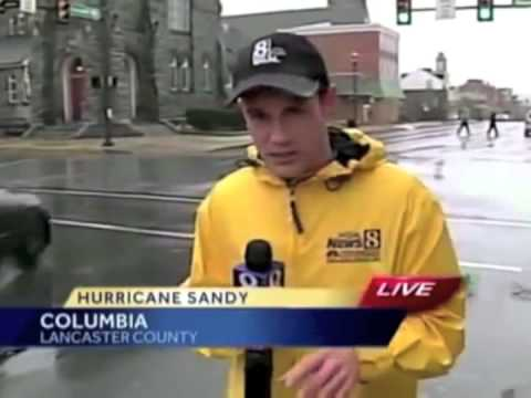 The Goofy Minute: Best Bloopers with Anchors in bad weather