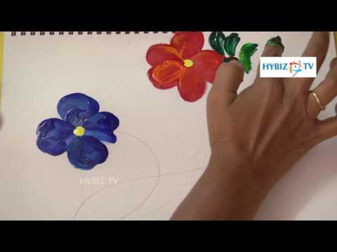 How to Paint Without Using a Brush