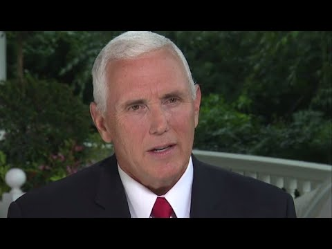 Full interview Vice President Mike Pence on quotFace the Nationquot