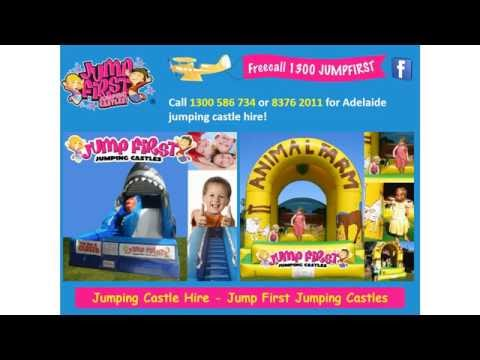 Jumping Castle Hire - Jump First Jumping Castles