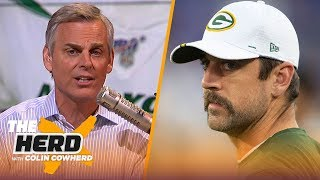 Rodgers' injury concerns may lead to Packers drafting a QB, Colin talks Sam Darnold | NFL | THE HERD by Colin Cowherd
