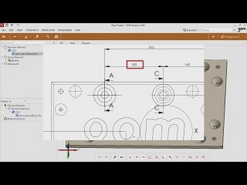 Free GOM Inspect - Episode 4 - Dimensional Inspection