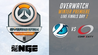 Part 1 CompLexity Gaming vs Luminosity - Live Finals Day 2 - Overwatch Winter Premiere