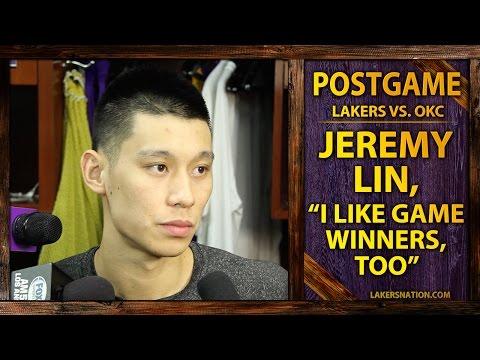 Video: Jeremy Lin Talks Kobe Taking Final Shot, 'I Like Game Winners, Too'