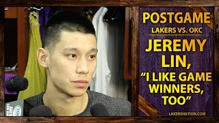 Jeremy Lin Talks Kobe Taking Final Shot, Addresses Not Shooting More