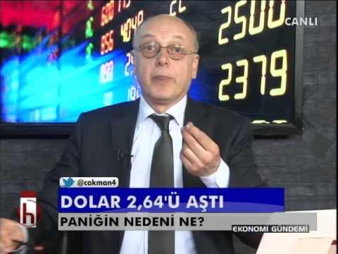 Dr. Cüneyt Akman'la Piyasalar: Dolar 2.64'ü aştı.. Paniğin nedeni?
