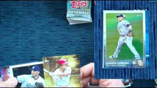 2015 topps baseball cards box break