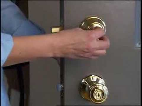 Extra Nighttime Security – Master Lock NightWatch® Deadbolts