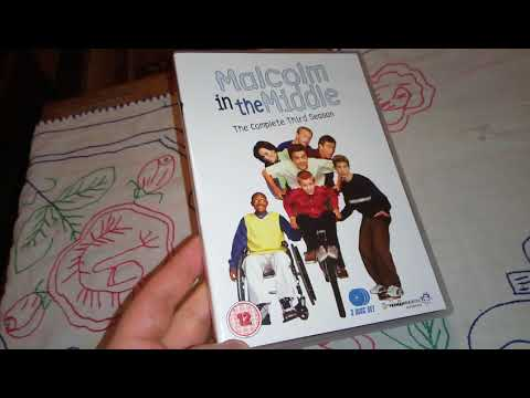 Malcolm in the Middle Season 3 DVD Unboxing
