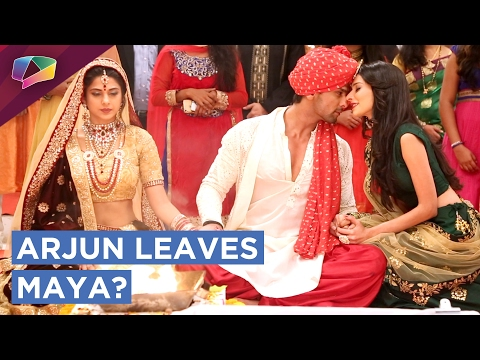 Arjun leaves Maya for Saanjh? | Beyhadh |