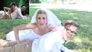 The cringe is real recreating these hilarious wedding photos! Watch PART 2 here: https://youtu.be/TBDO2N0jjPU Join the...