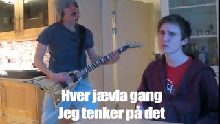 This is a norwegian song we did in 2011 or whatever, so sorry if you're not getting it fam. http://www.facebook.com/metalrr5 https://twitter.com/MetalRR5.