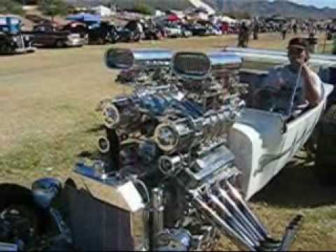 Twin-blown Model T produces 1000 horsepower