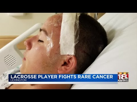 Lacrosse Player Fights Rare Cancer
