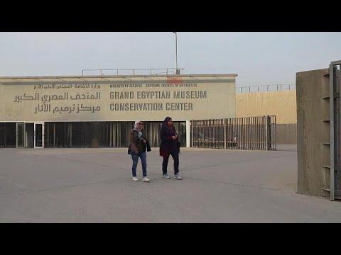 Mega-Projekt: Großes ägyptisches Museum nahe der Nekr ...