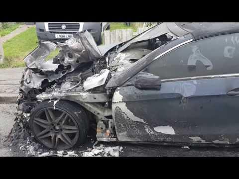 Staverton Dramas - AMG s400 MERC !?! - CAR SET ON FIRE