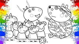 Jogos de meninas - Desenho da Peppa Pig Português Brasil  Jogo de Pintar Desenhos animados Peppa Pig  Video infantil
