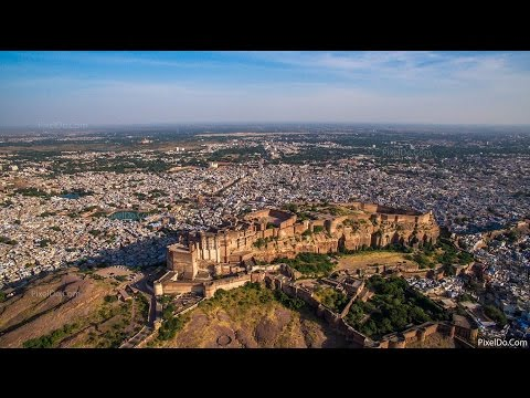 Mehrangarh Fort Aerial View