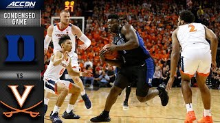 Video Duke vs. Virginia Condensed Game | 2018-19 ACC Basketball MP3, 3GP, MP4, WEBM, AVI, FLV Juli 2019
