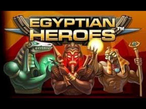 Big win on Egyptian Heros - NetEnt