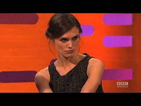KEIRA KNIGHTLEY Teaches GRAHAM NORTON to Pout - The Graham Norton Show on BBC AMERICA