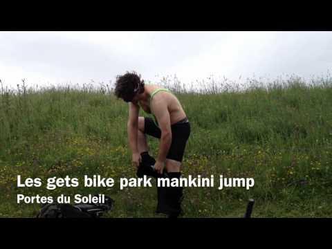 Les Gets Bike Park Bikini Jump