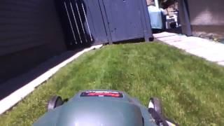 10 Min. Lawn Mow - Time Lapse