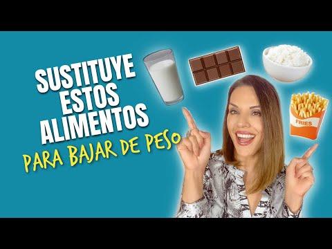 Dietas para adelgazar - SUSTITUYE ESTOS ALIMENTOS PARA BAJAR DE PESO DESPUÉS DE LOS 40 AÑOS