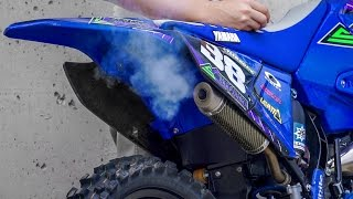 6. BEST SOUND YZ125 Pro Circuit Exhaust