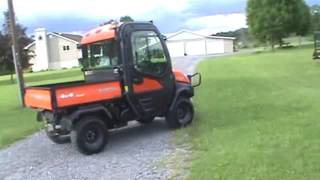 3. 2012 Kubota RTV1100 Cab Heat Air UTV Utility Vehicle 4x4 Diesel Side By Side !!!