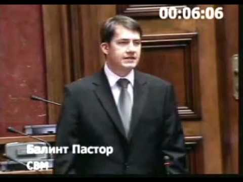 Parlamenti felszólalás: A Parlament elnökének megválasztásáról (Nebojša Stefanović)-cover