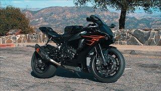 3. MODDED Yamaha R1 Canyon Run | Akrapovic Exhaust