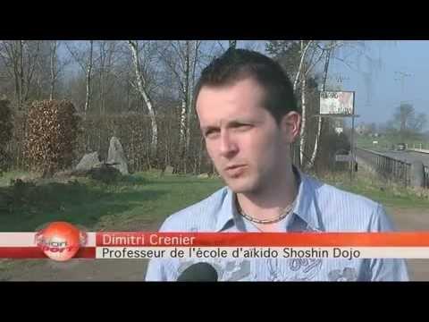 Reportage de télévesdre sur notre dojo