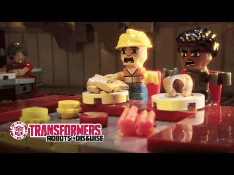 Transformers Official   KRE-O Transformers - Hibachi Chef