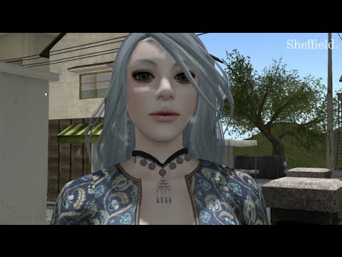 What types of play exist in virtual worlds like Second Life?