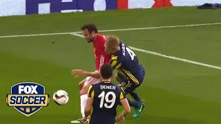 Juan Mata made fun of his own face plant by FOX Soccer