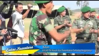 Video KASAD TNI Marah Atas Penembakan Terhadap Anggotanya di Batam MP3, 3GP, MP4, WEBM, AVI, FLV Oktober 2018