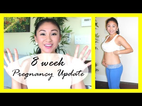 8 Week Pregnancy Vlog: Symptoms, TMI, Hairy, Horror Story