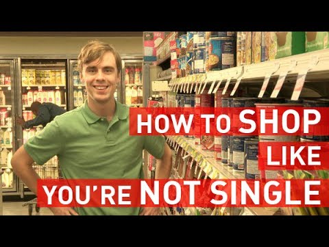 Shopping for Groceries Like You're Not Single