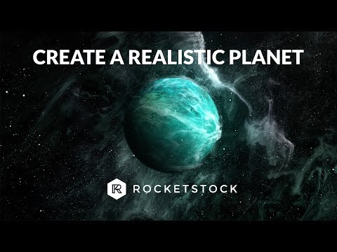 Create A Realistic Planet In After Effects | RocketStock