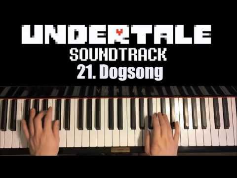 Undertale OST - 21. Dogsong (Piano Cover By Amosdoll)