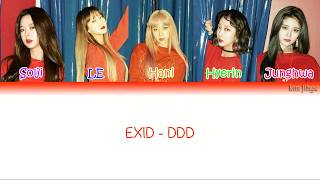 Download Lagu EXID (이엑스아이디) – DDD (덜덜덜) Lyrics (Han|Rom|Eng|COLOR CODED) Mp3