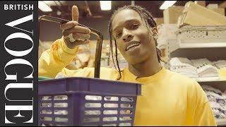 A$AP Rocky Takes Vogue On A Tour Of His Bodega   British Vogue Exclusive    British Vogue