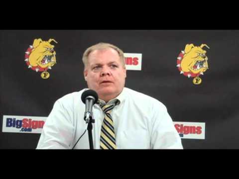 Hockey Head Coach Daniels Post Game 12-11-10