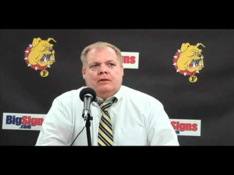 Hockey Head Coach Daniels Post Game 12-11-10