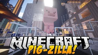 Minecraft Mods - PIGZILLA! (It Fell From The Sky Mod) - Mod Showcase